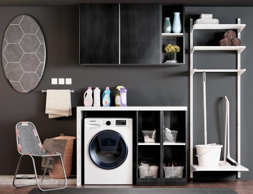 现代卫浴柜子 装饰柜 置物架