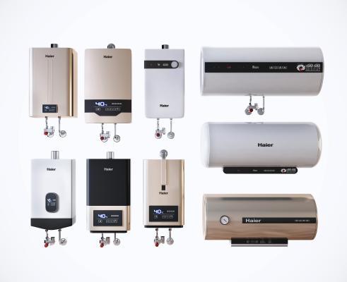 现代热水器组合