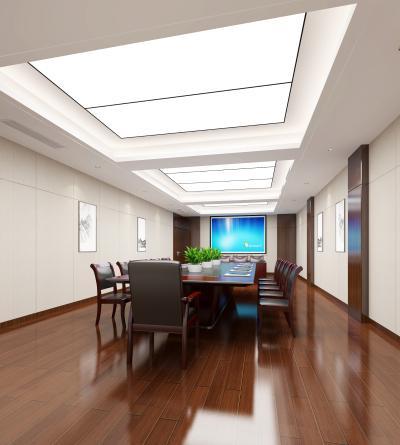 新中式政府机关单位国企会议室