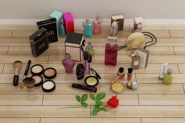 现代香水化妆品