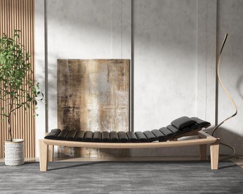 现代风格躺椅