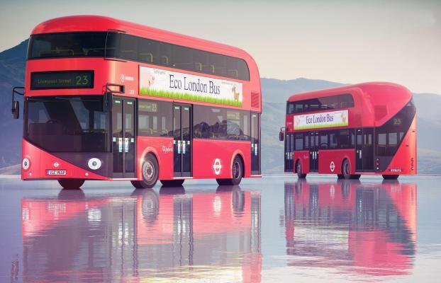 现代双层公交车