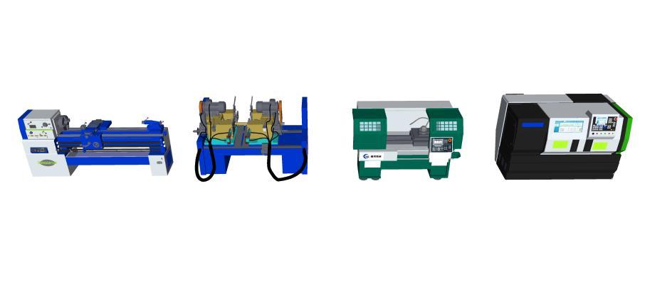 现代机房 数控机床 工业设备 数控车床