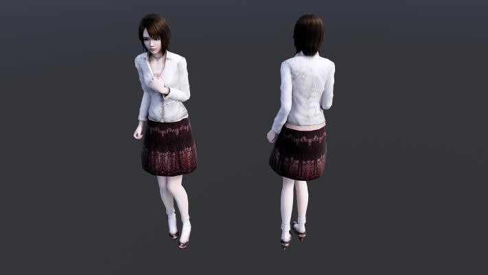 月森円香女孩