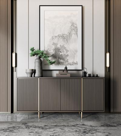 新中式玄关柜 边柜 装饰柜
