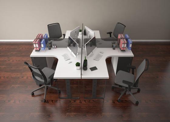 现代会议桌 办公桌 办公椅 谈判桌