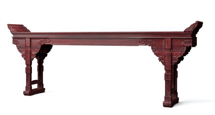 古典中式灵芝中堂条案