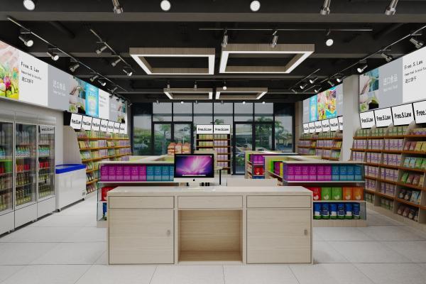 现代超市专卖店