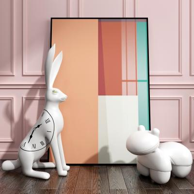 现代兔子装饰摆件