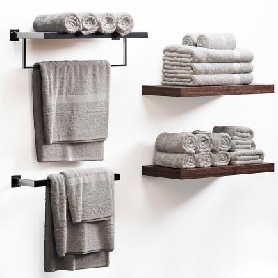 现代卫浴毛巾架