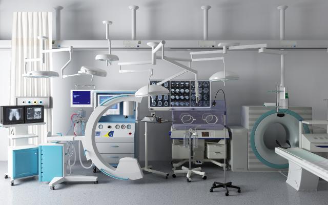 现代医疗器材 核磁共振