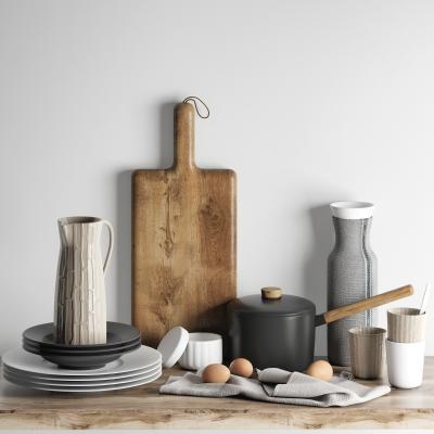 现代厨房用品锅