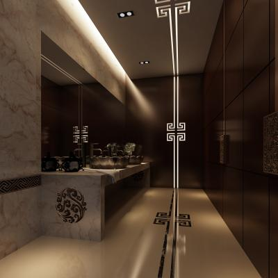 中式酒店卫生间