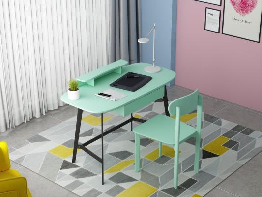 现代电脑台式桌子 家用书桌