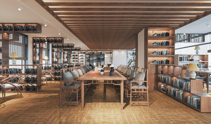 新中式书店
