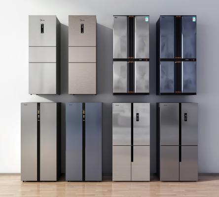 现代冰箱冰柜