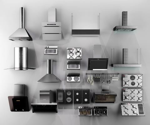 现代油烟机 厨房家电 油烟机