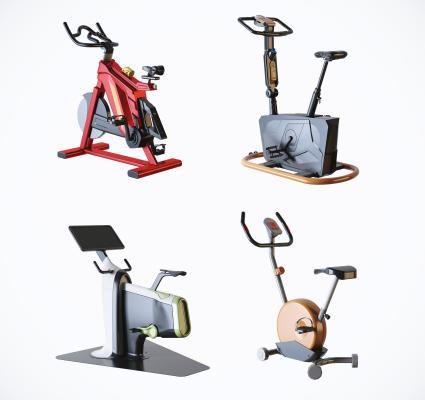 现代风格运动器材 健身房动感单车