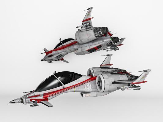 现代未来科幻宇宙飞船 宇宙战舰