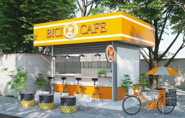 现代咖啡厅 便利店