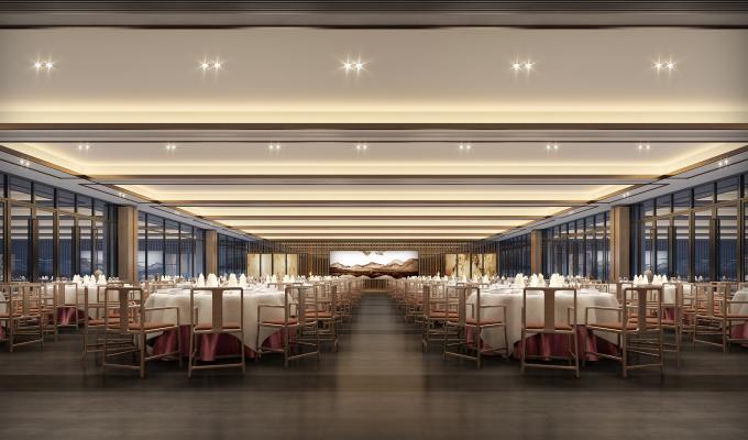新中式风格宴会厅