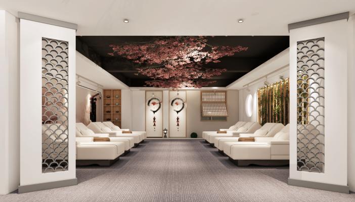 新中式会所 茶室