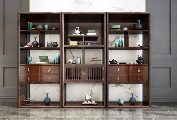 新中式裝飾柜組合