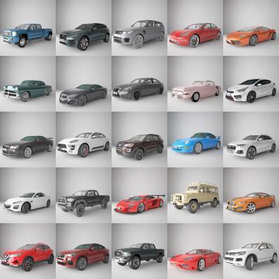 现代交通工具 汽车