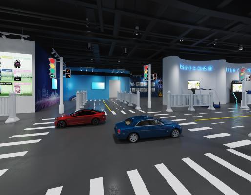 现代车类展厅