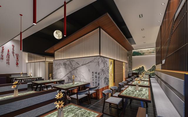 中式中餐馆火锅店
