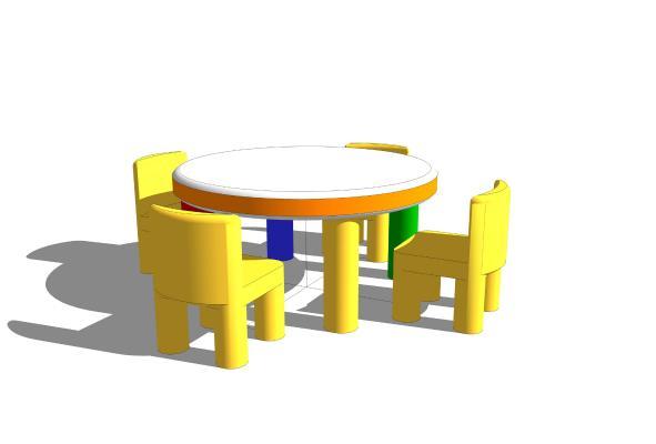 现代儿童椅子 桌子柜子