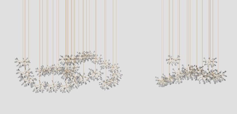 现代风格吊灯 水晶吊灯