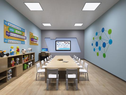 现代儿童教室