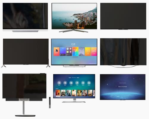 现代电视 液晶电视