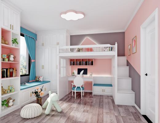 現代 兒童房