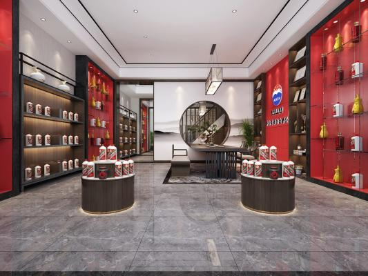 新⌒ 中式白酒展�d 茶室