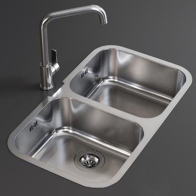 现代洗菜槽