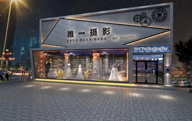 工业风婚纱店