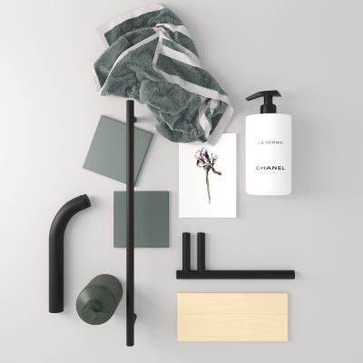現代衛生間用品 毛巾 洗漱用品