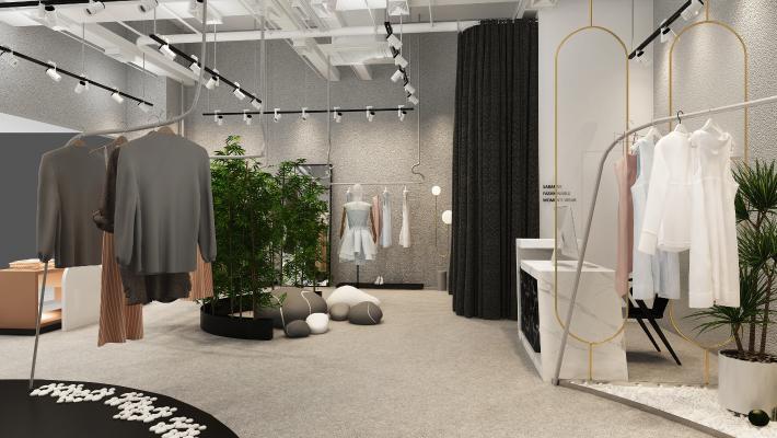 北欧风格服装店