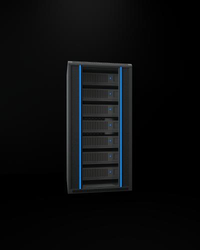 现代电脑机柜