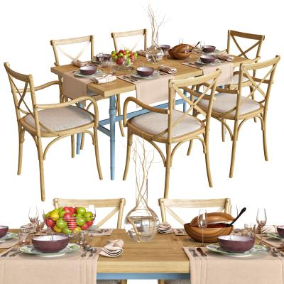 地中海餐桌椅