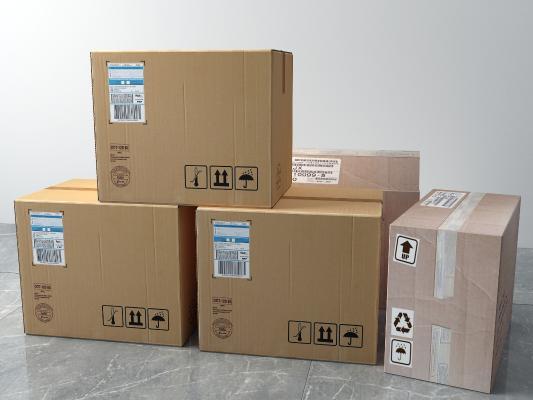 现代纸箱 包装箱