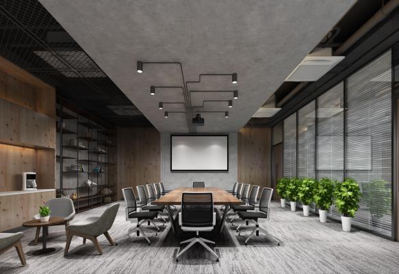 工業風會議室