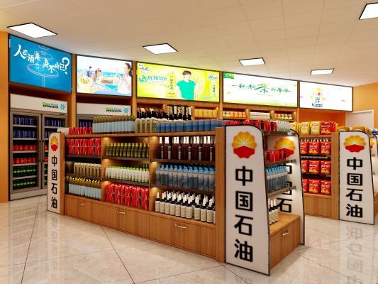 現代中國石油超市 加油站超市