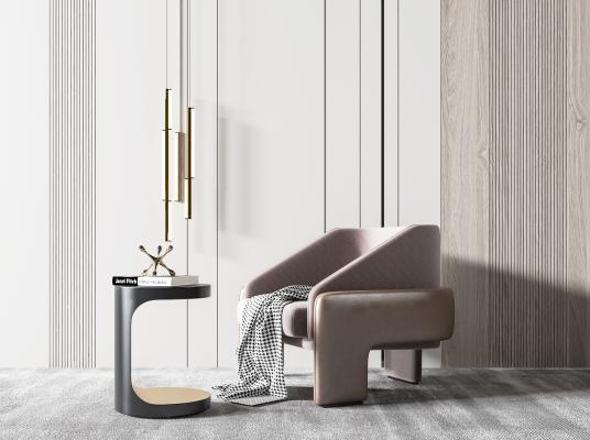 现代休闲椅 沙发椅 单椅