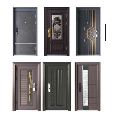 现代防盗门
