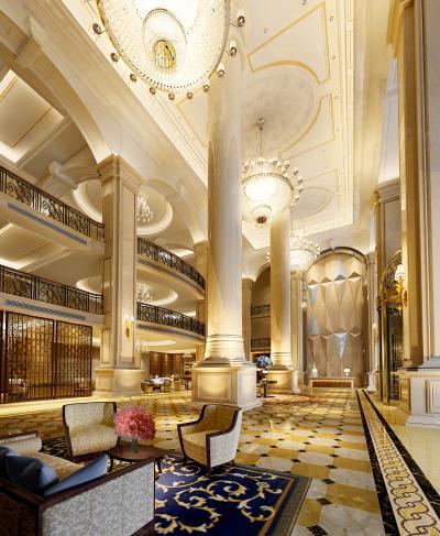 欧式风格酒店大堂