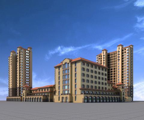 东南亚商业住宅