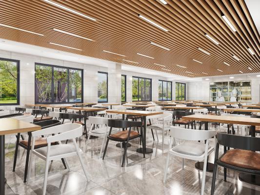 現代食堂 餐廳 吊燈 餐桌椅